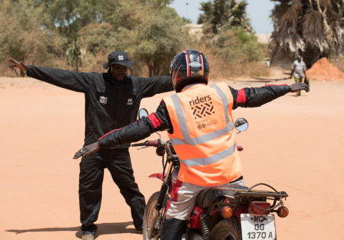 Two Wheels for Life powering Riders For Health in Gambia 2018